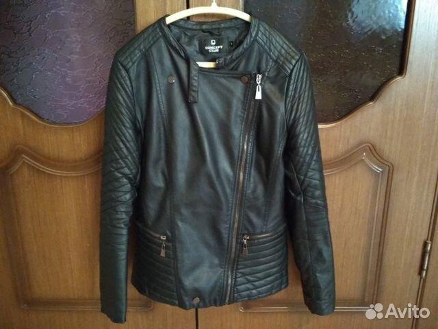 Куртка кожзам 89807465040 купить 1