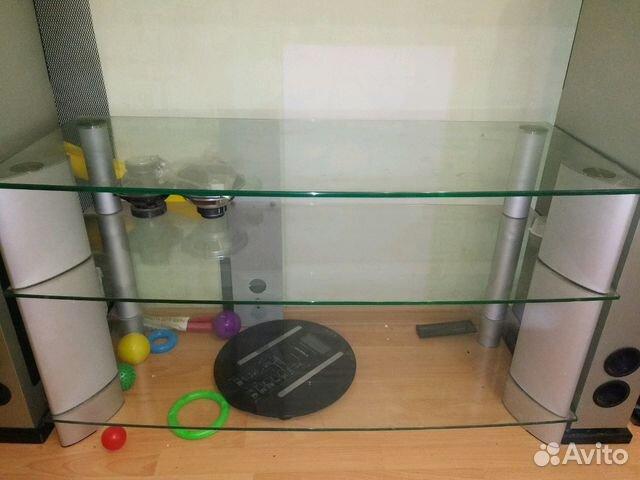 Стеклянная тумба под тв  89885509066 купить 1