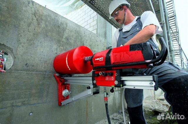сверление бетона авито