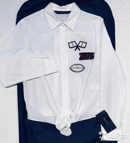 Рубашка Zara Basik 89658829192 купить 1