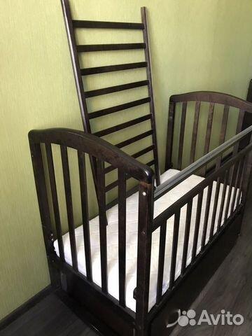 Кроватка Детская (в подарок матрас, мягкие бортики 89132873839 купить 3