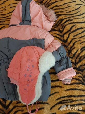Зимний костюм на рост 98+шапка в подарок 89242744104 купить 3