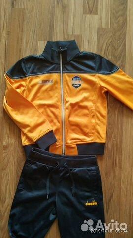 Спортивный костюм diadora italia 128 см 89058357255 купить 1