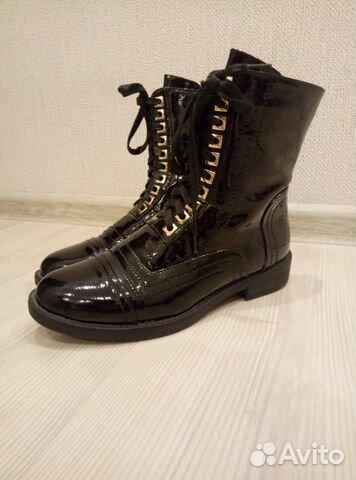 Ботинки женские, размер 38. В отличном состоянии  89608558968 купить 1
