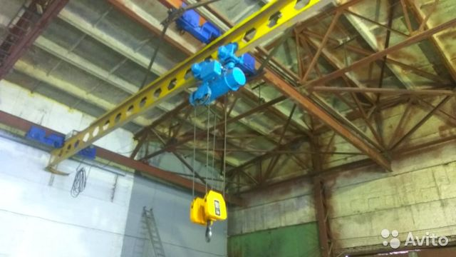 The hoist 10t, 9M (Bulgarian) buy 4
