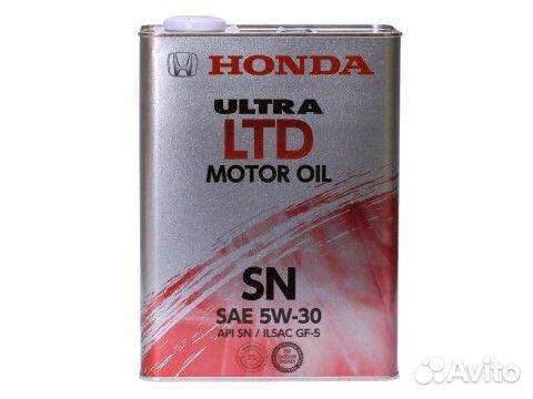 масло моторное honda 5w30 ultra ltd sn