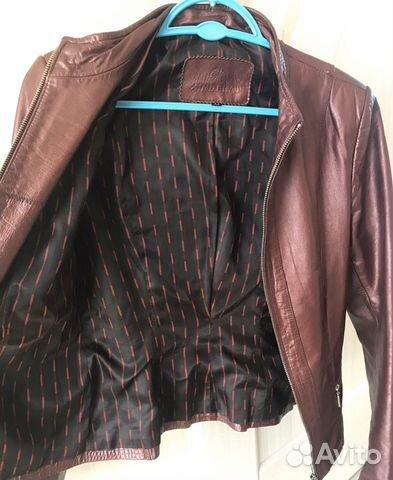 Куртка натуральная кожа жакет  89097870553 купить 3