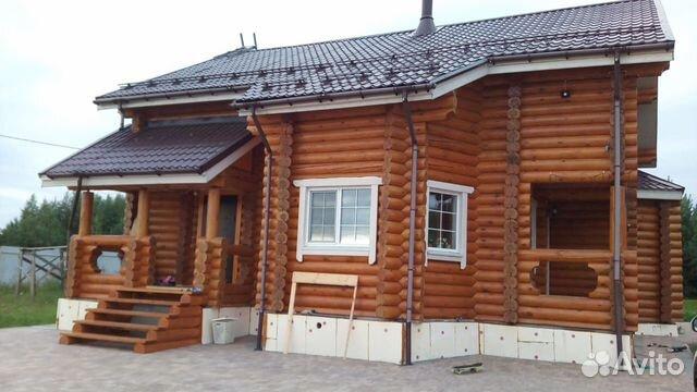 Дома из оцилиндрованного и рубленого бревна 89127347064 купить 5