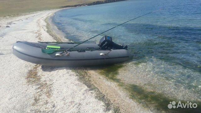 Резиновая лодка с мотором. 9.9 купить 1