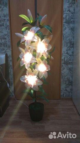 Светильник Куст лилии  89535331219 купить 1