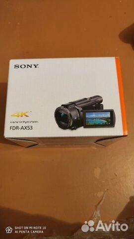 Sony FDR-AX53 4K видео  купить 9