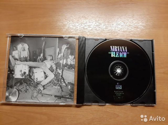 Nirvana Bleach CD  купить 3