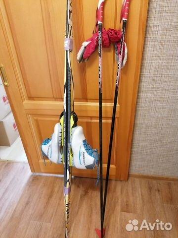 Беговые лыжи  89174335760 купить 3