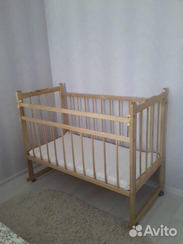 Детская кровать с матрасом  89102975337 купить 1