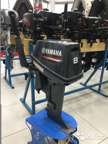 Лодочный мотор Yamaha 8 fmhs Б/У  88006002714 купить 10