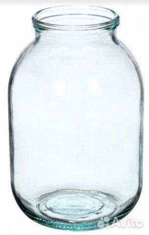 Банка стеклянная 3 литровая