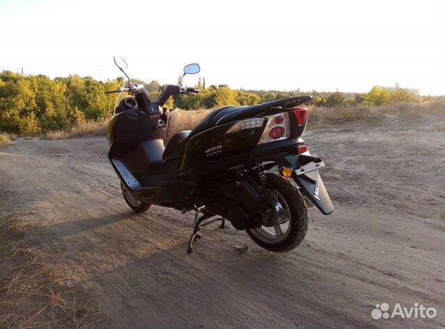 Макси скутер Yiben Vanguard 150  89885612079 купить 2
