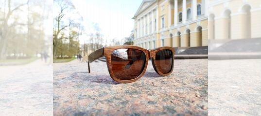 1ff126896187 Бамбуковые (деревянные) солнцезащитные очки купить в Санкт-Петербурге на  Avito — Объявления на сайте Авито