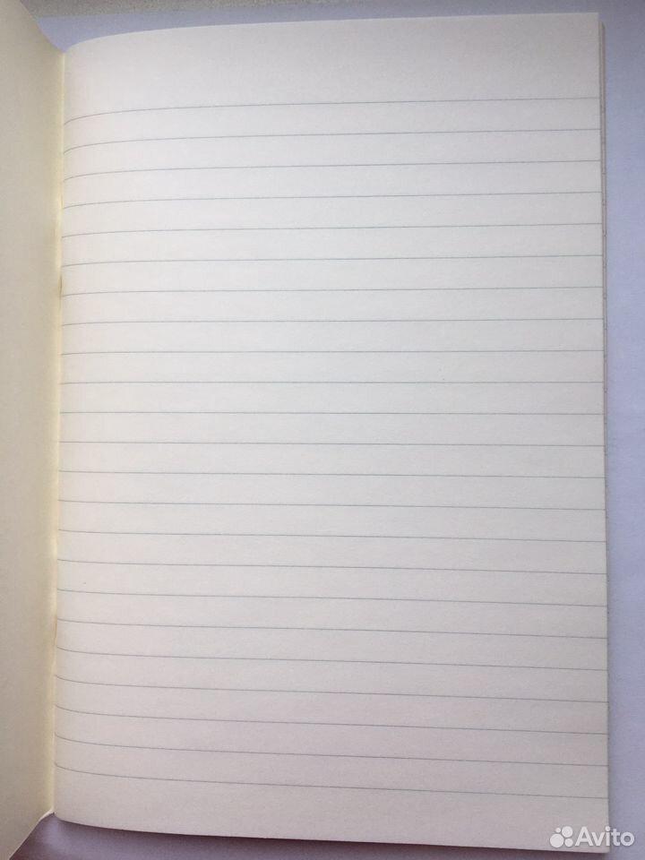 Блокнот / розовая тетрадь корейская в линейку 48 л