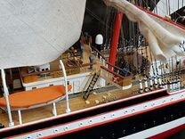 Модель корабля Барк Седов большой