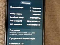 SAMSUNG A8+ 2018 озу 4 гб, 32 гб, черный, 6'