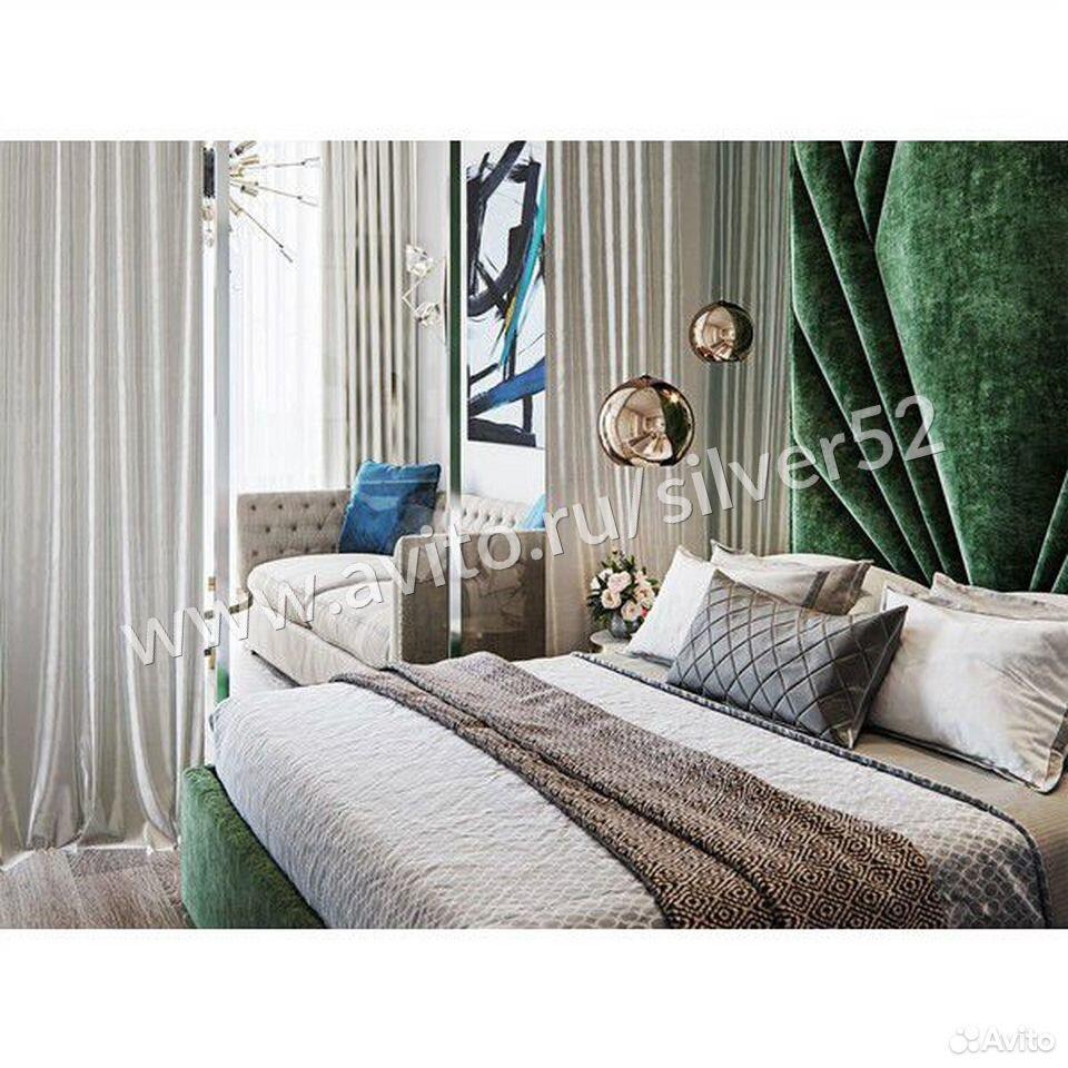 Стеновая панель + кровать 160х200