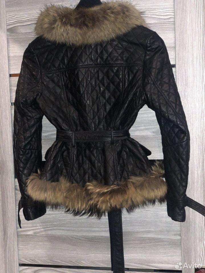 Куртка с мехом  89650094215 купить 2