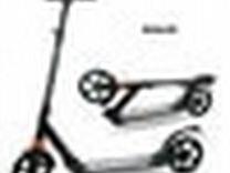 Самокат для взрослых и детей) большие колёса)