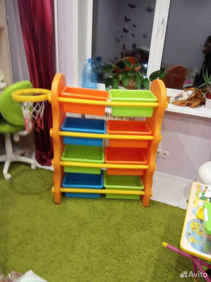 Стеллаж для игрушек  89107866694 купить 2