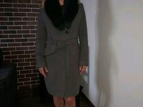 Пальто зимнее утеплённое
