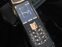 Vertu Signature S Design Red Gold Black SN