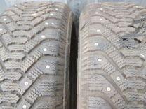 185 65 r15 Goodyear 2шт Зимние шипованные шины