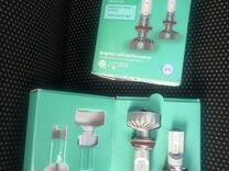 Philips led h8, h11, h16 лампы
