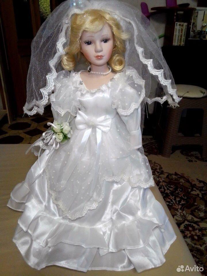 Продам куклу фарфоровая Невеста  89277036161 купить 1