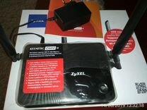 Роутер wi-fi, порт USB 3G/4G Zyxel keenetic omni 2