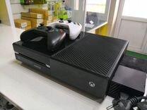 Xbox ONE 500Gb (2 геймпада) (6 игр)