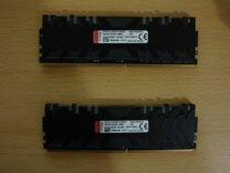 DDR4 HyperX 3200Mhz (cl16) 8+8Gb RGB