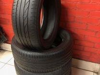 Шины R 17 235 55 лето Bridgestone на Тигуан, ауди