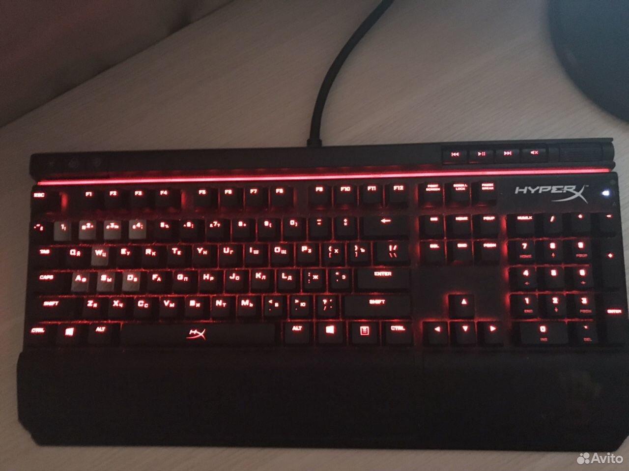 Механическая клавиатура HyperX Allow Elite red led  89059910065 купить 3