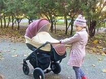 Детская коляска Tutis zippy orbit шоколадный/св.бе