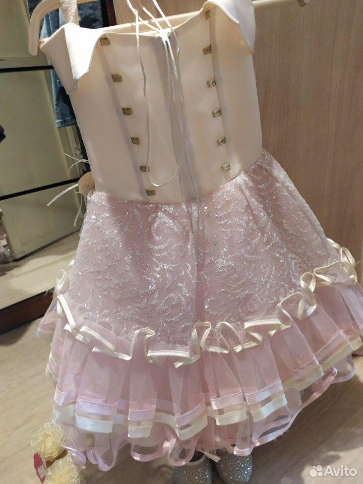 Красивейшее нарядное платье для принцессы+туфли  89854569556 купить 6