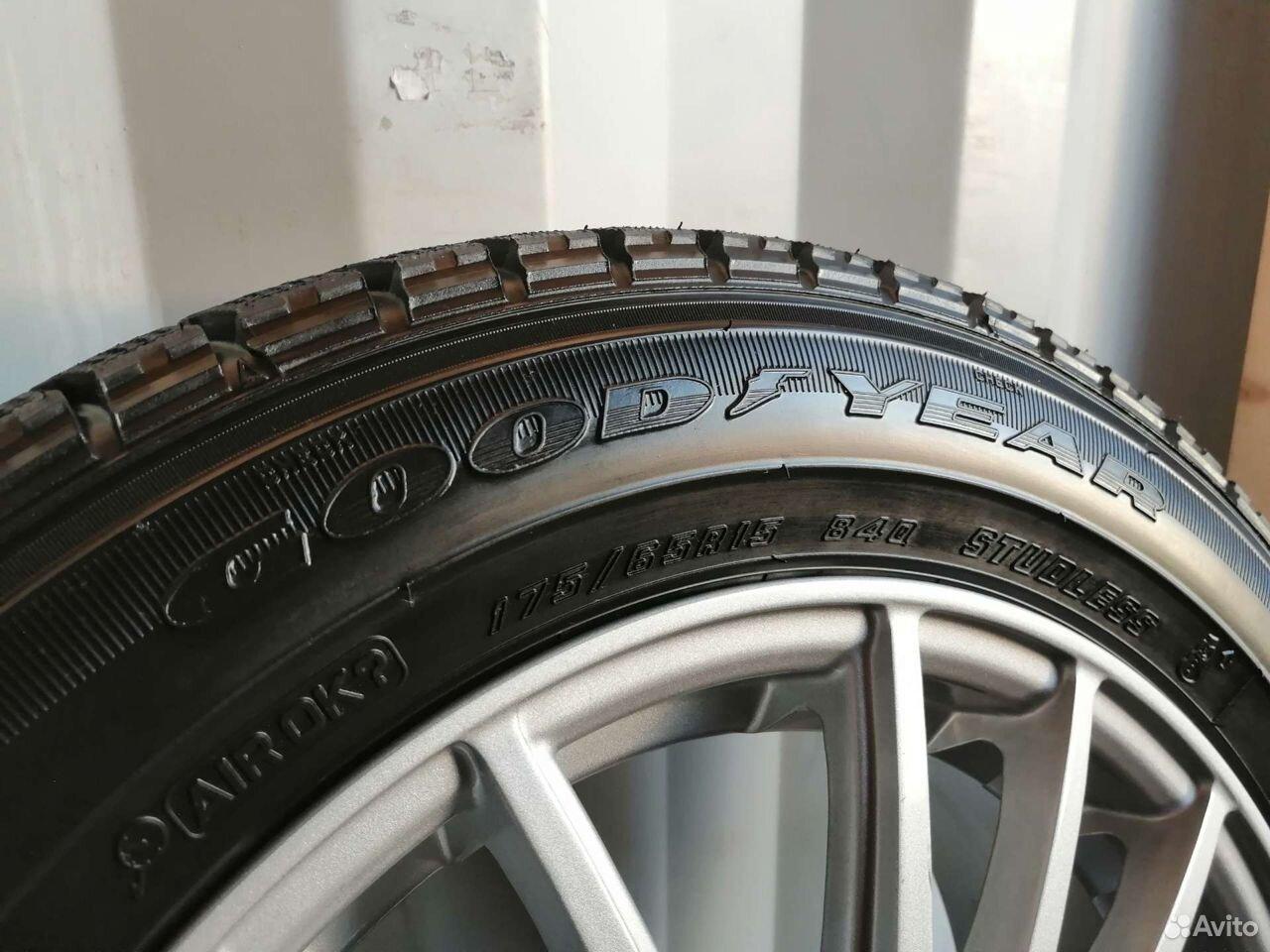 Комплект колес (№148) из Японии  89244146927 купить 7
