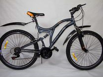 Велосипед izh-bike Ranger 26'' 18 скор.+ 2 аморт