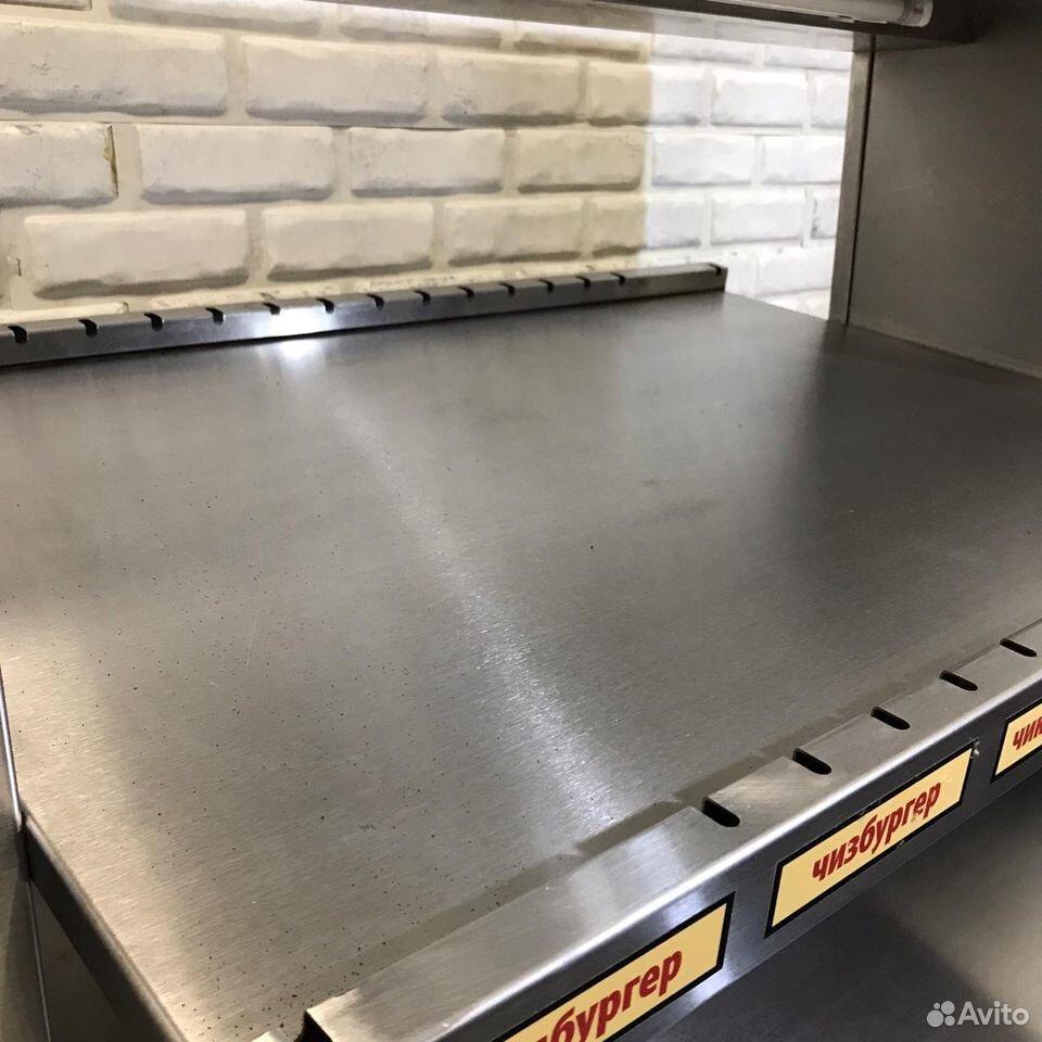 Витрина Тепловая TTM (раздача для бургеров)  89169974116 купить 4