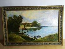 Картина маслом на холсте — Мебель и интерьер в Москве