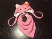 Комплект шапка, шарф HandMade