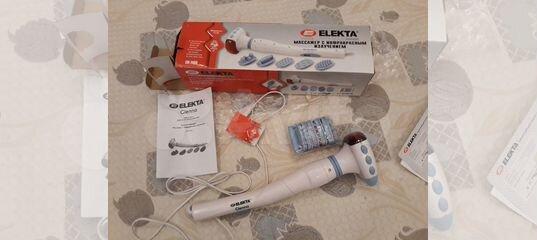 Массажер elekta инструкция медицинская техника для дома магазины