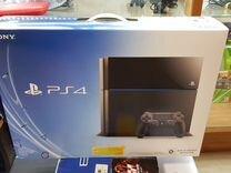 Sony PS4 500Gb + 10 крутых игр