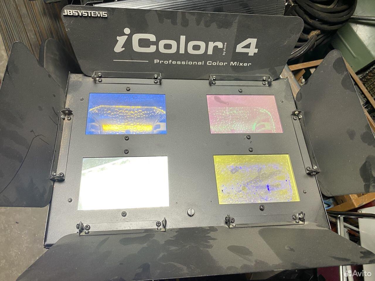 Прибор заливного света Acme IColor4 JBSystems  89184464505 купить 2