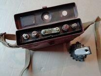 Аккумулятор и фонарь 1968г.СССР